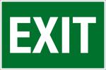 Escape Sign - Exit