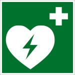 Rescue marks - Automated external defibrillator
