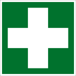 Rescue Sign - First Aid