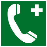 Rescue Sign - Emergency Phone