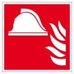 Fire safety signs - means and equipment for fire fighting