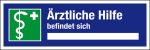 Workplace placard - Medical assistance is available