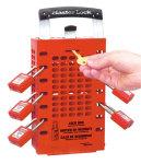 Group locking box red