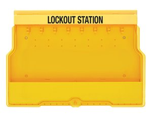 Locking station without contents 8 hooks