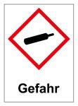 GHS Labeling - Danger, pressurized gases