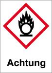 GHS Labeling - Warning, igniting substances
