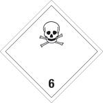 Dangerous goods mark - Toxic substances