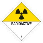 Dangerous goods symbol - radioactive substances