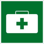 Rettungszeichen - Verbandkasten