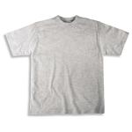 T-Shirt ash Gr S 85%BW/Viskose