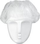 Kopfhaube, Barettform, 52cm Durchmesser