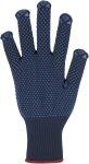 Feinstrick-Handschuh, Punktbenoppung