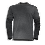 T-Shirt 7928/dk.grau mel. S