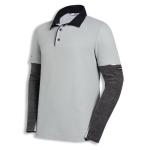 Poloshirt 7908/hellgrau S