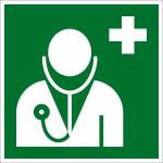 Rettungszeichen - Arzt (E009)