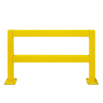 Querbalken,f. Rammschutzgeländer,f. Außen,,L 1500mm,gelb