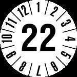 Jahresprüfplakette 2022 | JP122 | Wunschfarbe