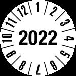 Jahresprüfplakette 2022 | JP222 | Wunschfarbe