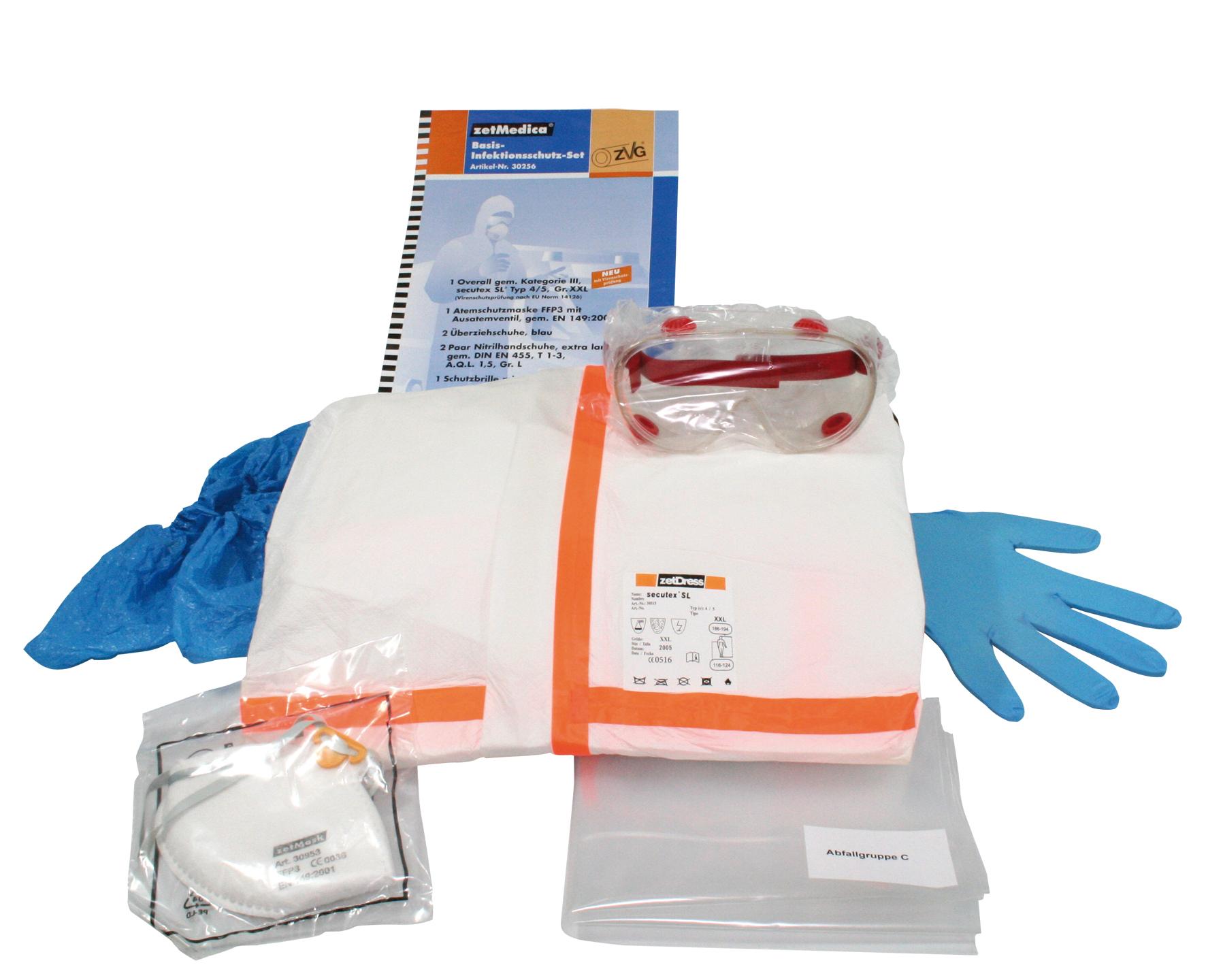 Desinfektions- Reinigungs-Bedarf